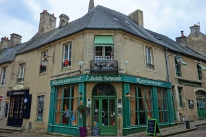 Local bistro in Bayeux