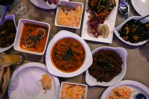 Indian food for Neela's 15th Birthday!