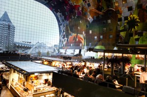 Yet another view of the Markthal interior