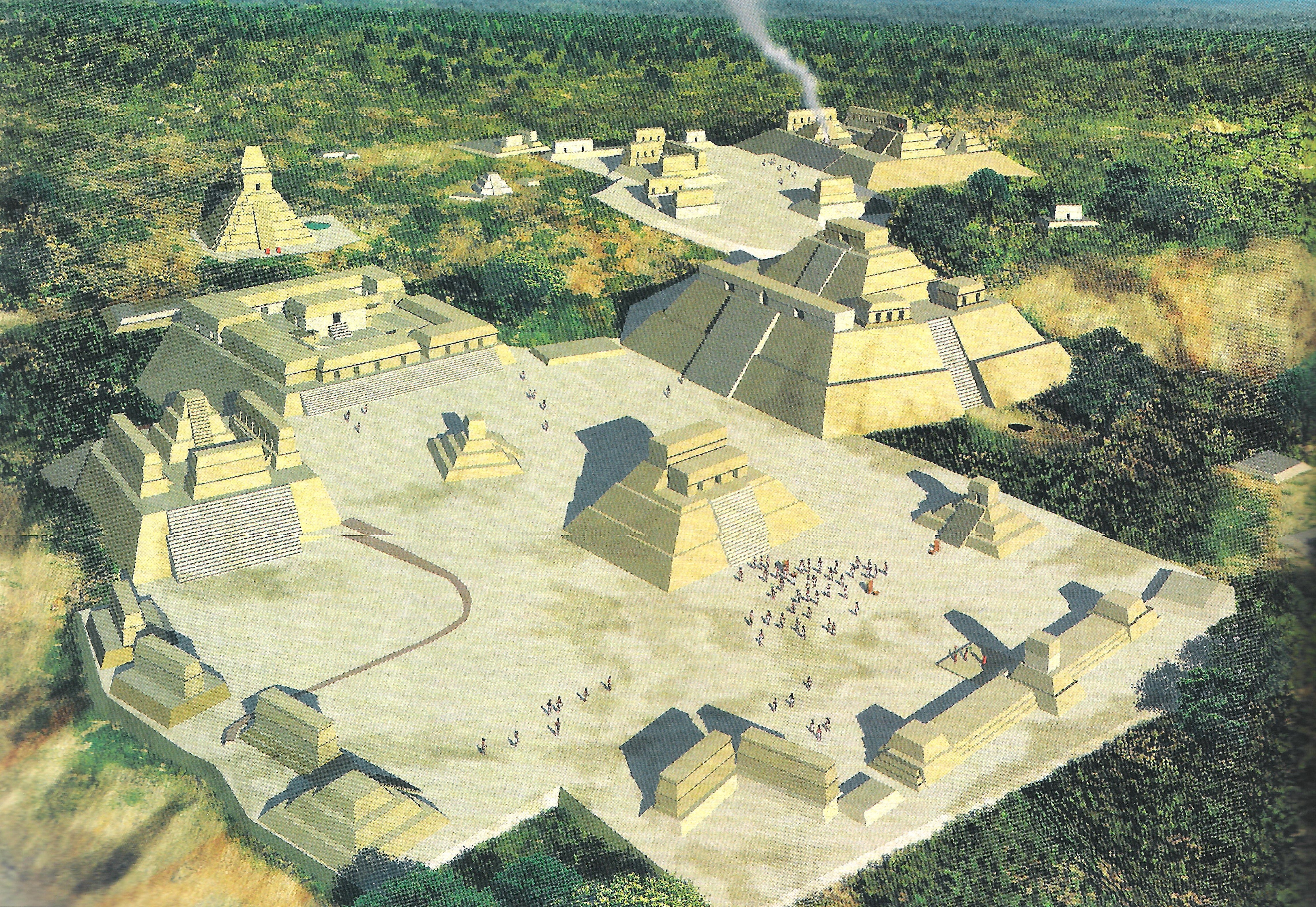 The Urban Landscape Of The Mayan Cities A Vision From The