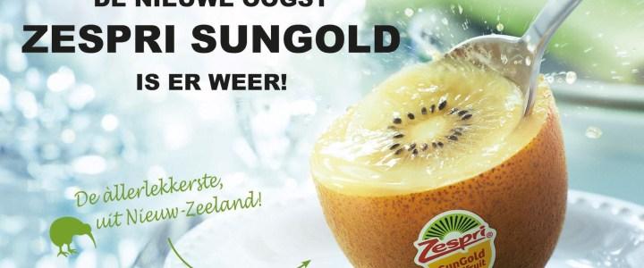 Zespri SunGold kiwi's