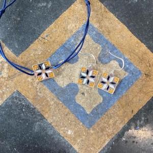carreau for jaune et bleu carreau de ciment bijoux la rochelle