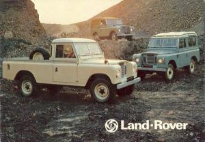 Land Rover Series 3 models and specs