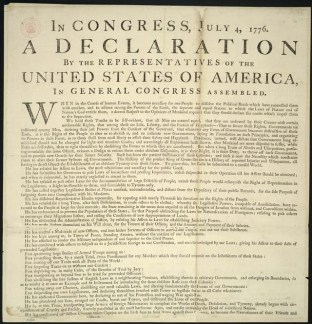 LCRCC Declaration of Independence