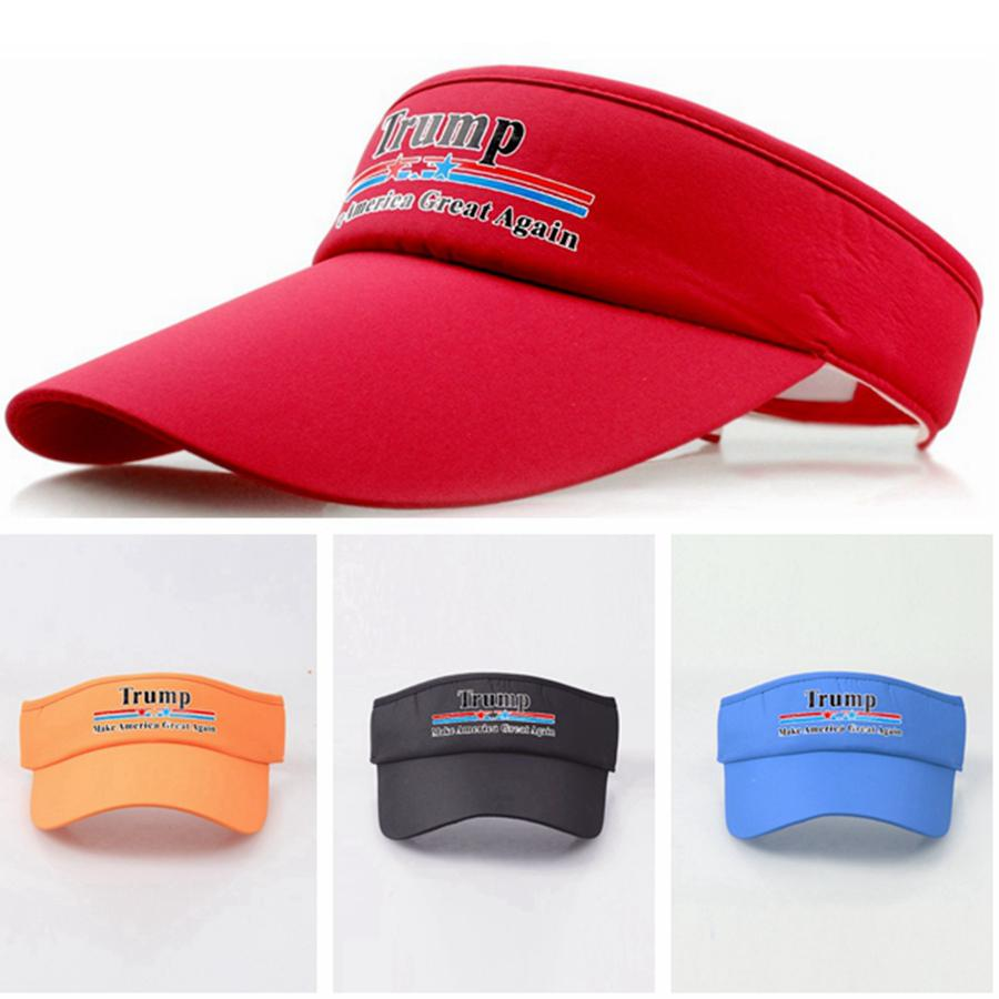 Trump visor in multiple colors
