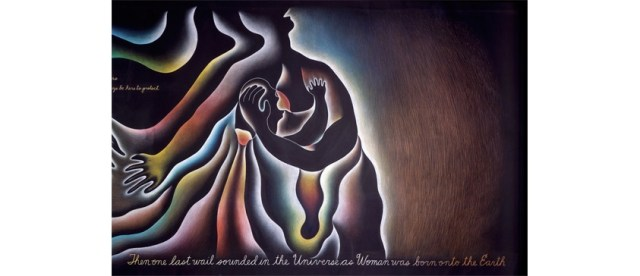 "la Grande Madre - ""In the Beginning"" di Judy Chicago"