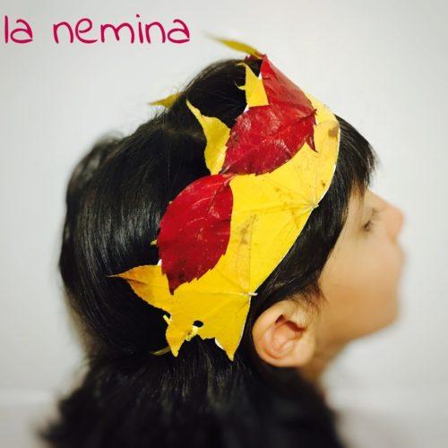 corona foglie autunno