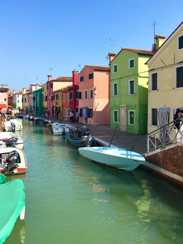 Venezia con i bambini l'isola di Burano