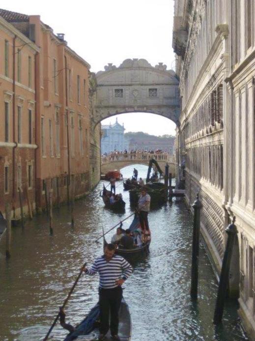 Venezia con i bambini e il ponte dei Sospiri