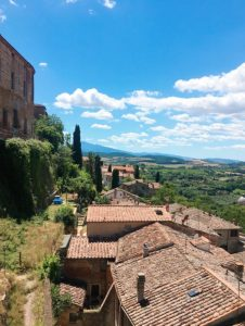 val d'Orcia, Montepulciano