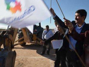 Gobernador de Chihuahua da banderazo a construcción de escuela secundaria