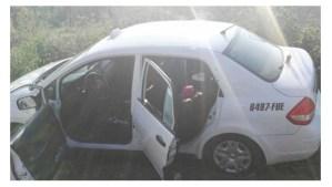 Mueren 2 por ataque armado a pasajeros de taxi en Hidalgo
