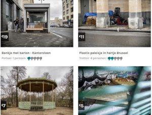 Dormir entre cartones en Bruselas, una opción en 'NotFairBnB'