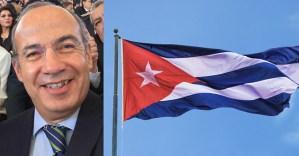 Niegan acceso a Cuba a Felipe Calderón