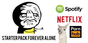 """""""STARTER PACK FOREVER ALONE"""""""