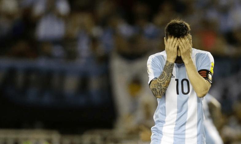 Messi fuera de la selección Argentina