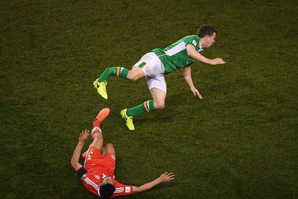 Terrible fractura en el partido Irlanda vs Gales (Video)