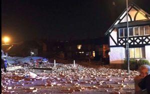 Más de 30 heridos por explosión cerca de Liverpool