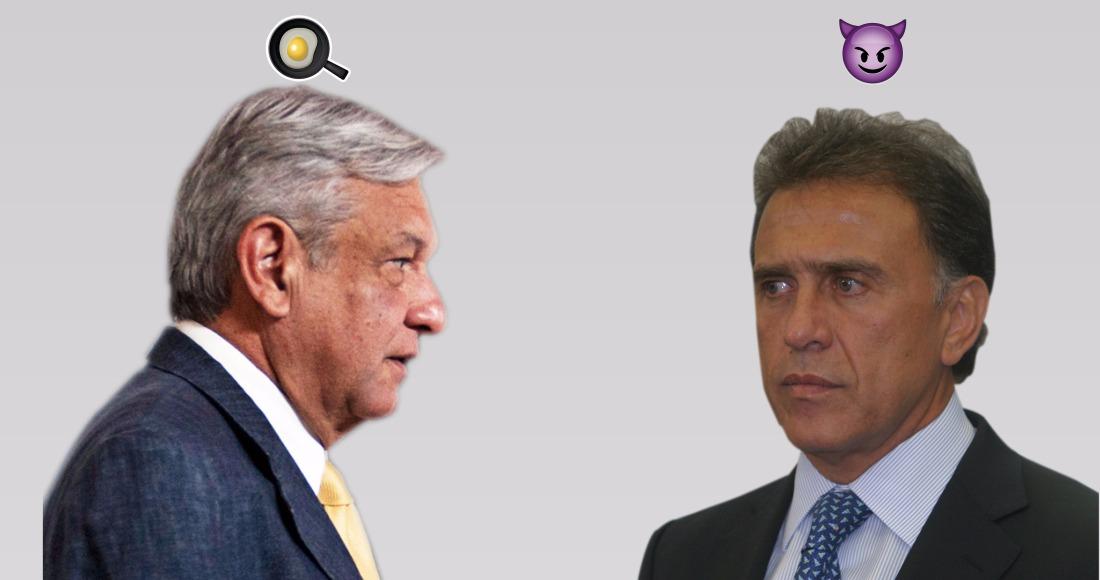 Miguel Ángel Yunes presunto autor intelectual del huevazo a AMLO