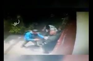 Les quitan 200 mil pesos con lujo de violencia (Video)