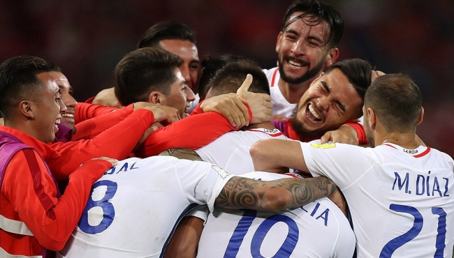Chile es el primer finalista de la Confederaciones