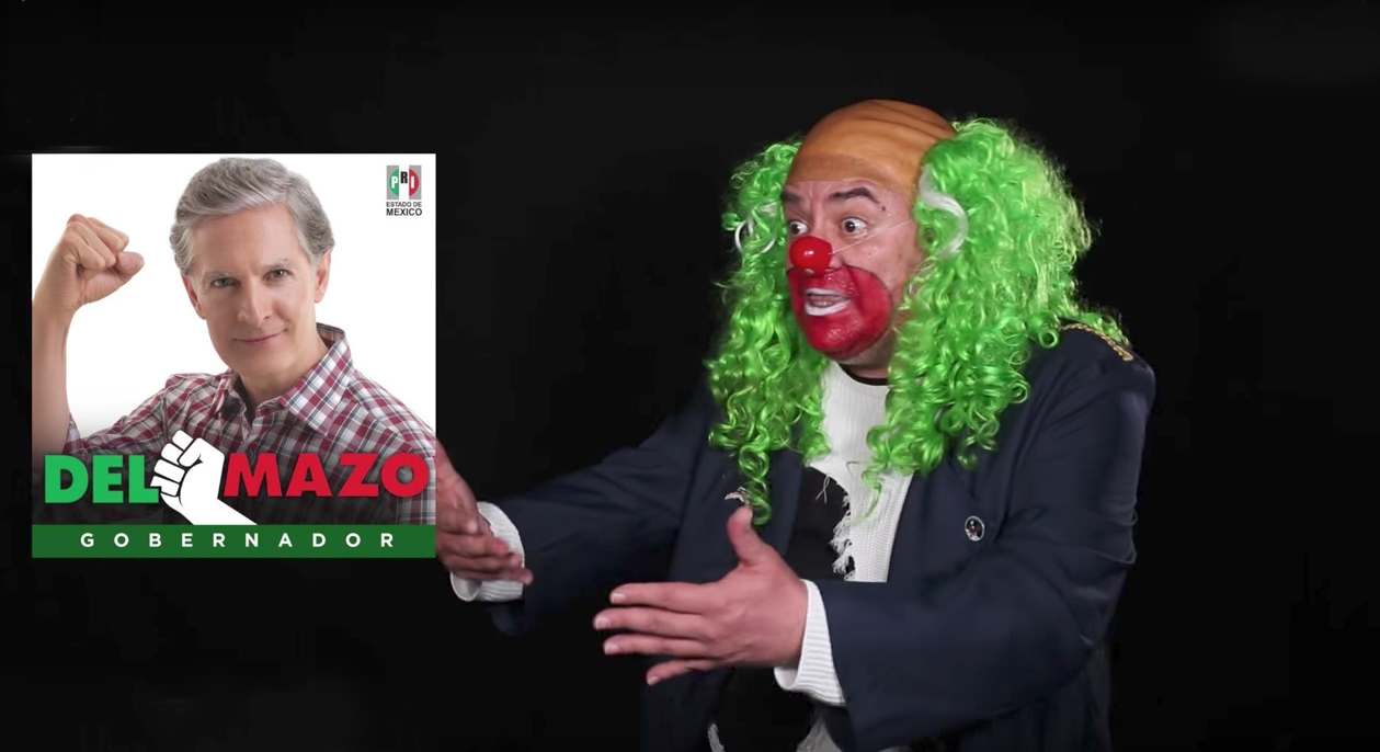 """Es evidente que hubo 'chanchullo' en Estado de México"": Brozo (VÍDEO)"