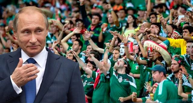 La FIFA autoriza que se pueda gritar 'Eh Putin' en honor al Presidente de Rusia