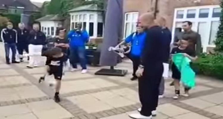 Niño de 9 años deja sin palabras a Pep Guardiola (VÍDEO)