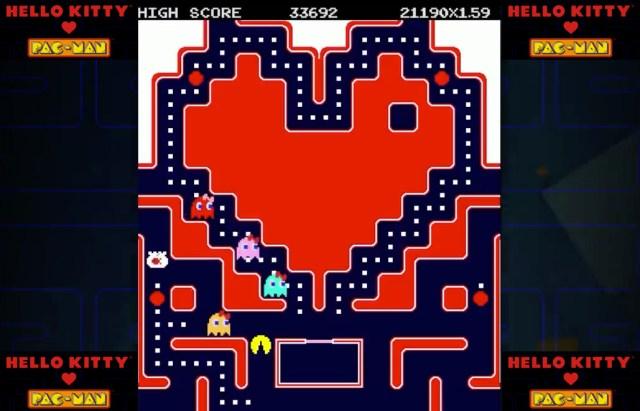 Hello Kitty y Pac-Man tendrán una alianza