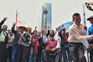 Delfina Gómez exige a Peña Nieto respetar la decisión de la ciudadanía