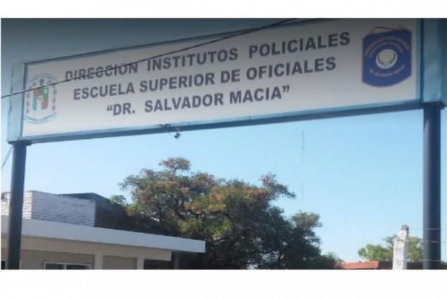 Escuela de policías denuncia robo de 40 mil pesos