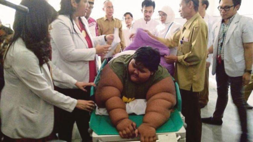Resultado de imagen de La sorprendente transformación del niño más obeso del mundo, a dieta desde hace nueve meses