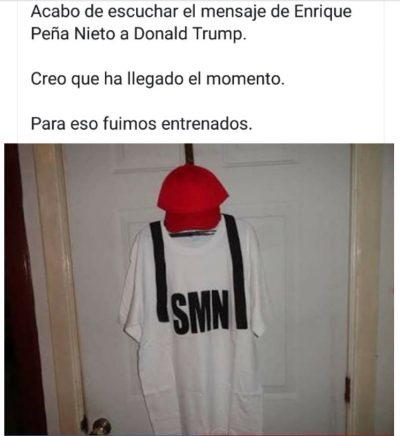 Memes de EPN contra Trump