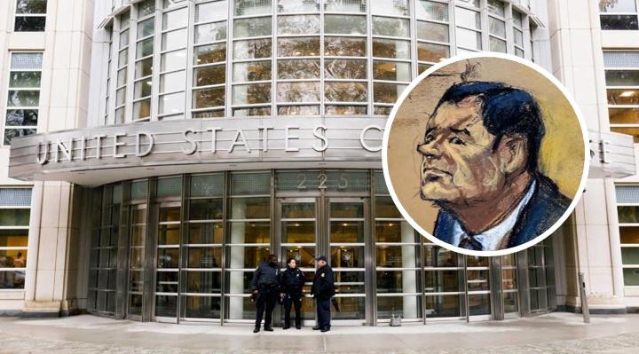El Chapo 'se pela' en pleno juicio tras apagón en el juzgado