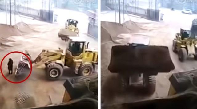 Graban muerte de mujer en una trituradora tras incidente con excavadora