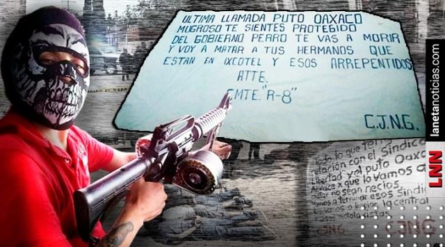 Última llamada, put…: la advertencia del CJNG tras enfrentamiento en Oaxaca