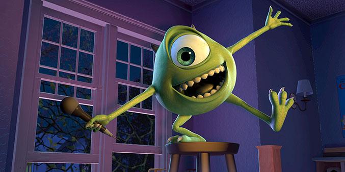 Lecciones de vida de  Pixar - Monsters University