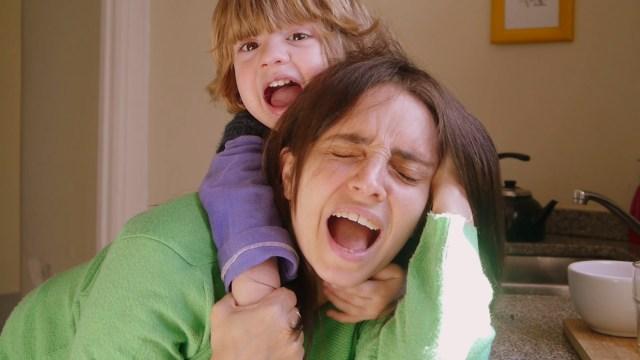 Madre enloquecida y bloquera feliz. Se puede.