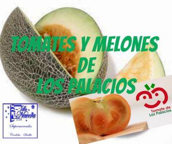Compra tomates y melones de Los Palacios en supermercados La Newera, Sevilla