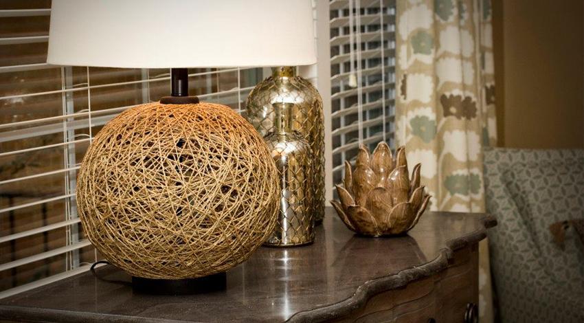 Lamp from Cedar Springs Project