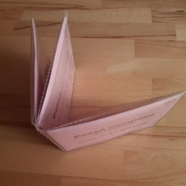 Emballage matériel Montessori de langage, de conjugaison Montessori, de grammaire Montessori
