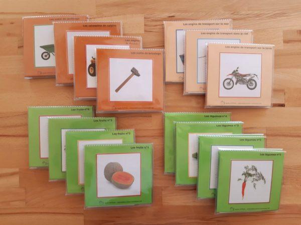 Images classifiées Montessori : Plantes-outils-engins