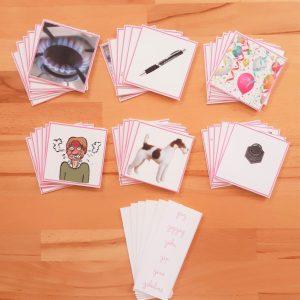 2ème série d'écriture-lecture ; dictées muettes Montessori; apprendre à lire et à écrire en pédagogie Montessori; série roseMontessori ; mots à écrire