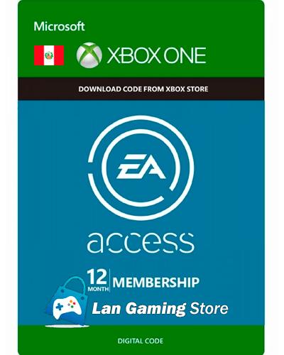1 año EA Access Peru Xbox One
