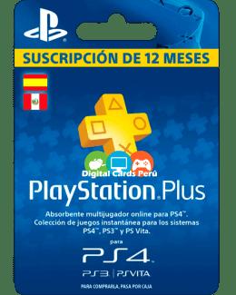 Membresía 1 año Playstation Plus España