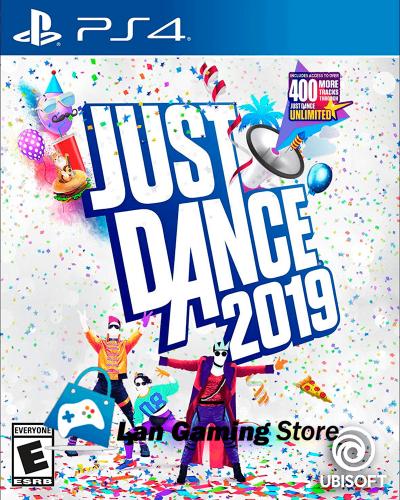 Portada de videojuego Just Dance 2019 para PS4