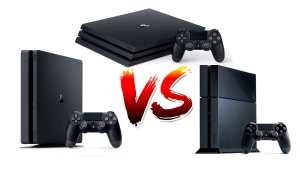 Compración entre PS4 Fat PS4 Slim y PS4 Pro