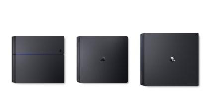 Comparación entre los distintos tipos de PS4