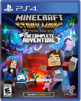 Minecraft Story Mode Aventura Completa para PS4