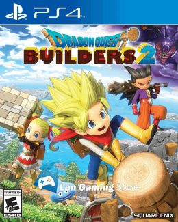 Cover Dragon Quest Builders 2 PS4 Peru
